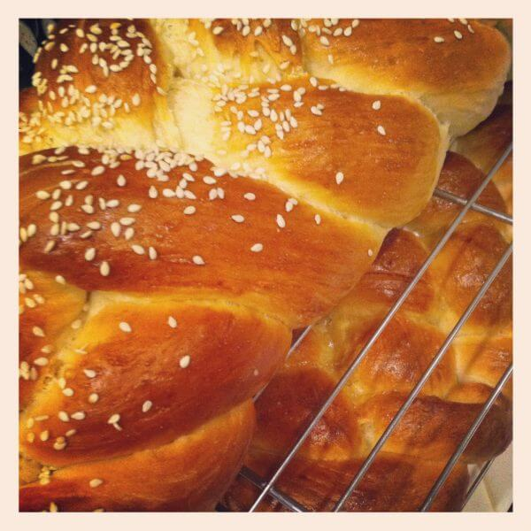 ... challah people are always raving about how yummy my challah is once i