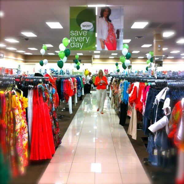 examples of displays inside a Jacksonville area Stein Mart store. (provided by Stein Mart