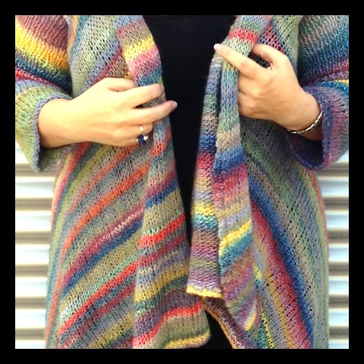 Knit One My Amazing Technicolor Dream Coat Momfluential Media