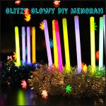 Easy, Safe Glowstick Menorah for Little Kids