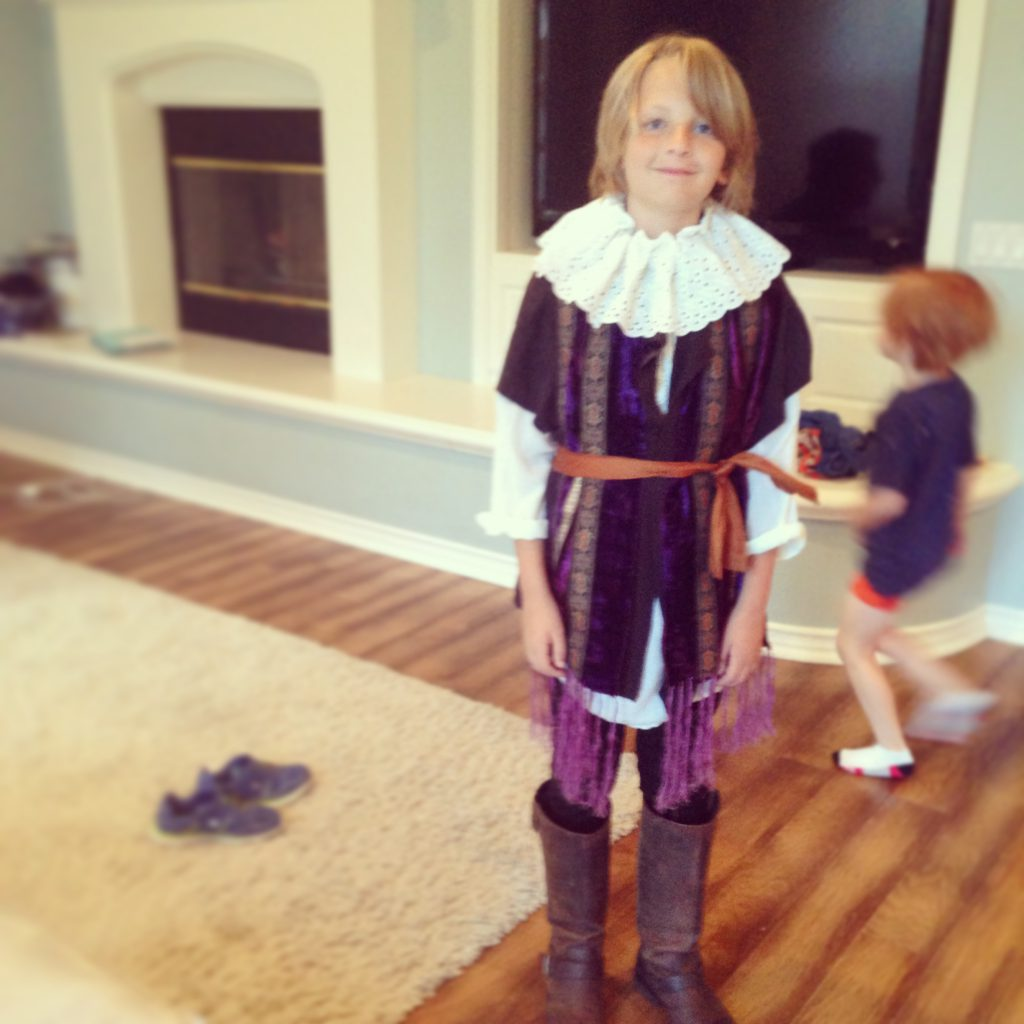 Homemade Shakespeare Costumes
