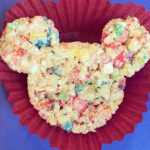 Rainbow Mickey Mouse Rice Krispies Treats