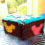 Magical Rainbow Hidden Mickey Cake