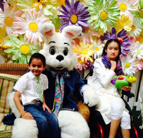 The caring bunny experience momfluential media for Call the easter bunny phone number