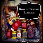 Game Of Thrones Barbecue Free Printable for Father's Day