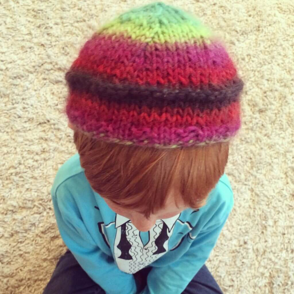 Cool Colorful Keppies: Free Knit Kippot Pattern - Momfluential Media