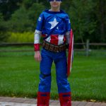Amazing DIY Captain America Duct Tape Costume Made by an 11yo