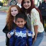 Francesca Capaldi at Disney Party