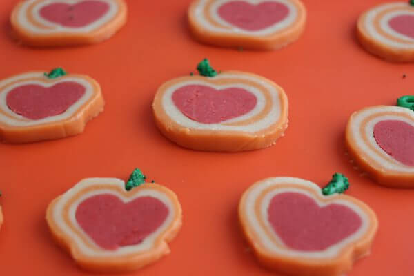 Grateful Heart Pinwheel Cookies