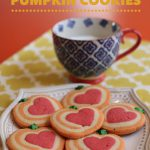 Grateful Heart Pumpkin Pinwheel Cookies