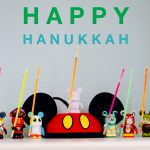 Disney Vinylmation Menorah