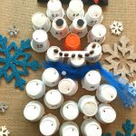 Snowman Advent Calendar For Kids That Can Hardly Wait- Keurig K-Cup DIY
