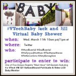 #VTechBaby Virtual Baby Shower Twitter Party March 11th 10am PT