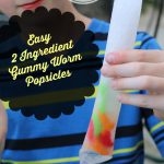 Perfect Gummy Worm Popsicles