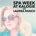 Spa Week at Kalogie 360