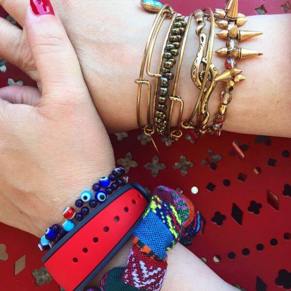 Alex and Ani bracelets plus Disney Magic Band - let the party begin!