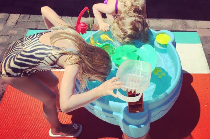 Fish 'n Splash, little tikes, water table, outdoor, summer