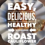 EASY Roast Cauliflower Made in an Airfryer – Whole Head!