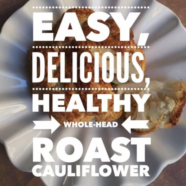 Roast Cauliflower Head
