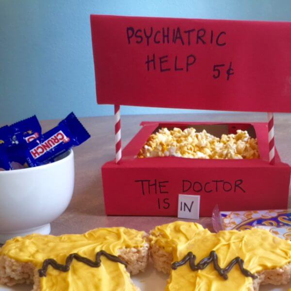 Pop Psych Booth Lucy Peanuts Snack