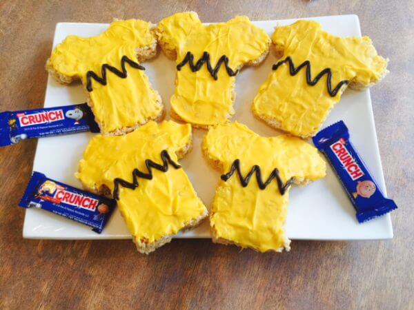 charlie brown tee shirt treats