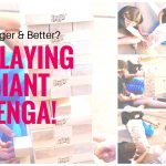 Go Big Game Holiday Gift Hunting With Giant Jenga