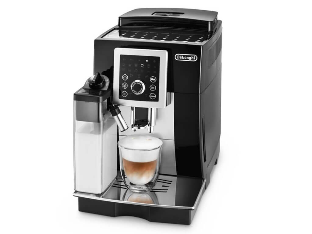 delonghi magnificas cappucino smart review. Black Bedroom Furniture Sets. Home Design Ideas