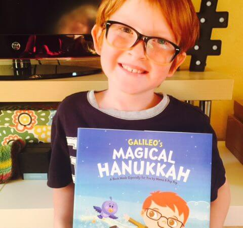 Personalized  Books from Hallmark Make a Perfect Hanukkah Gift!
