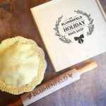 Thoughtful Personalized Gifts of Pie Boxes & Rolling Pins for Fab Foodies