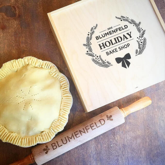 personalized pie box