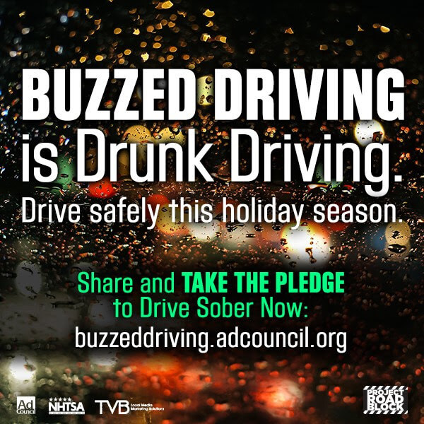 #BuzzedDriving is Drunk Driving! A Reminder to Stay Safe ...