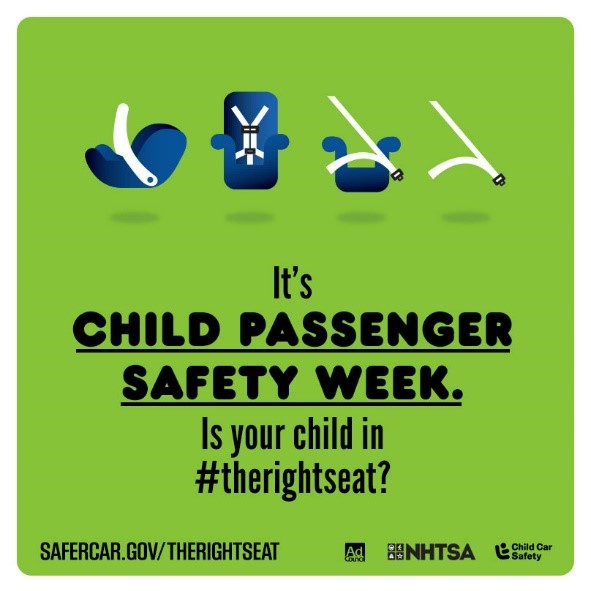 Scary Facts Child Passenger Safety Week