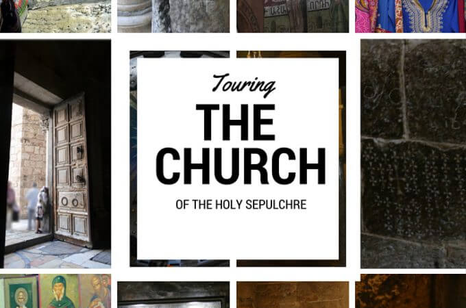 Visiting the Church of The Holy Sepulchre in Jerusalem
