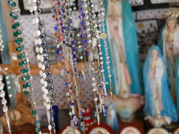 Souvenirs near the Church of the Holy Sepulchre