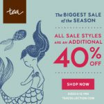 Time to Stock up for Summer With the Tea Collection Sale