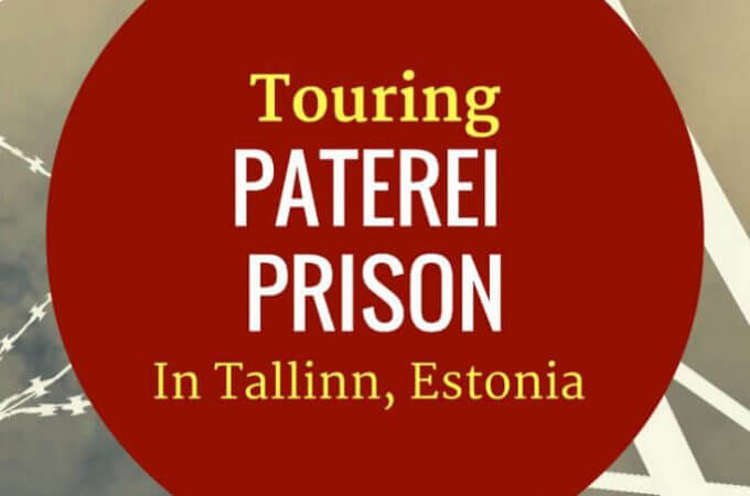 Touring Patarei Prison in Tallinn, Estonia