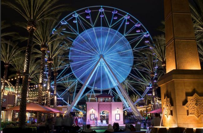 Photo credit to Hotel Irvine- Irvine Spectrum