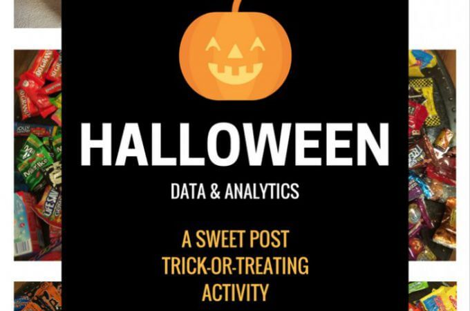 Halloween Homeschool STEM Activity: Analyzing our 2016 Candy Haul
