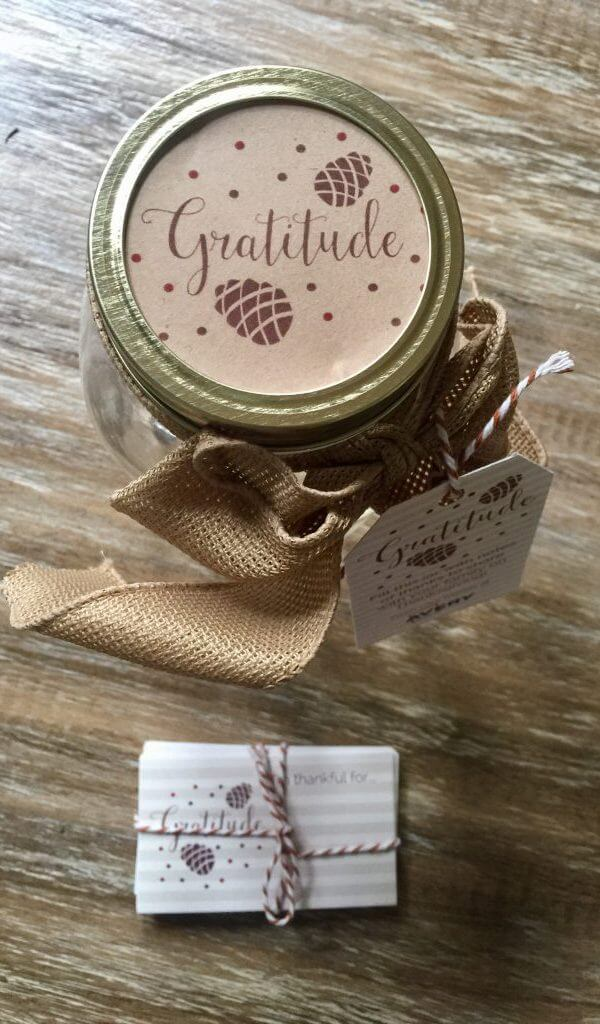 Avery Labels Gratitude Jar Thanksgiving Jar