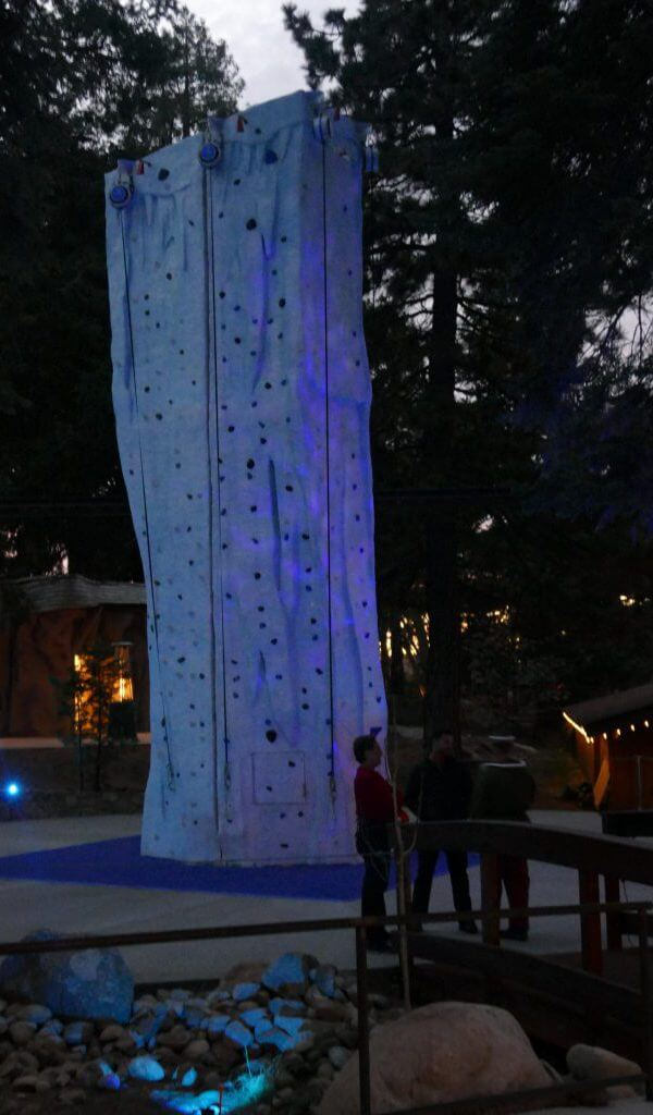 Climbing Tower at Santa's Village