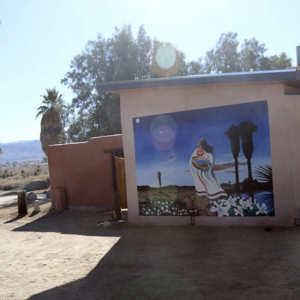 Mural at 29 Palms Inn