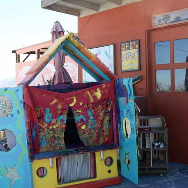 puppet theater at 29 Palms Creative Center