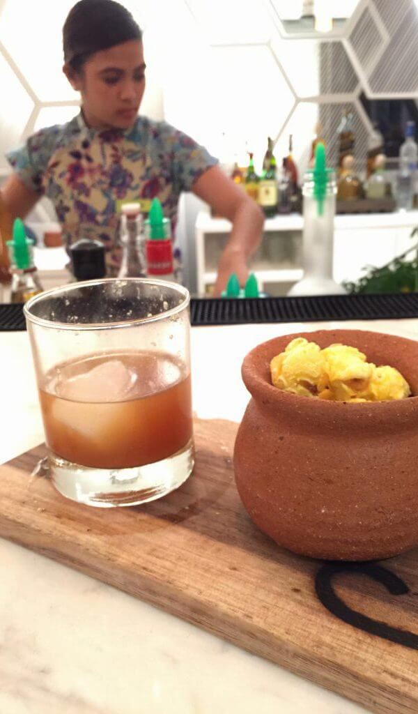 Twist on an Old Fashioned at the Lind