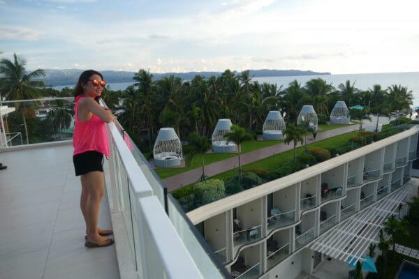 Lind hotel on Boracay - evening view