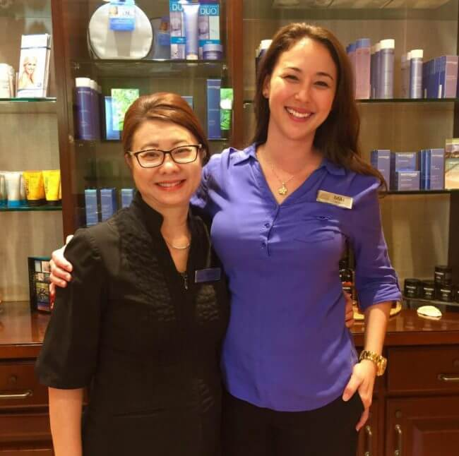 Pacific Waters Spa Staff