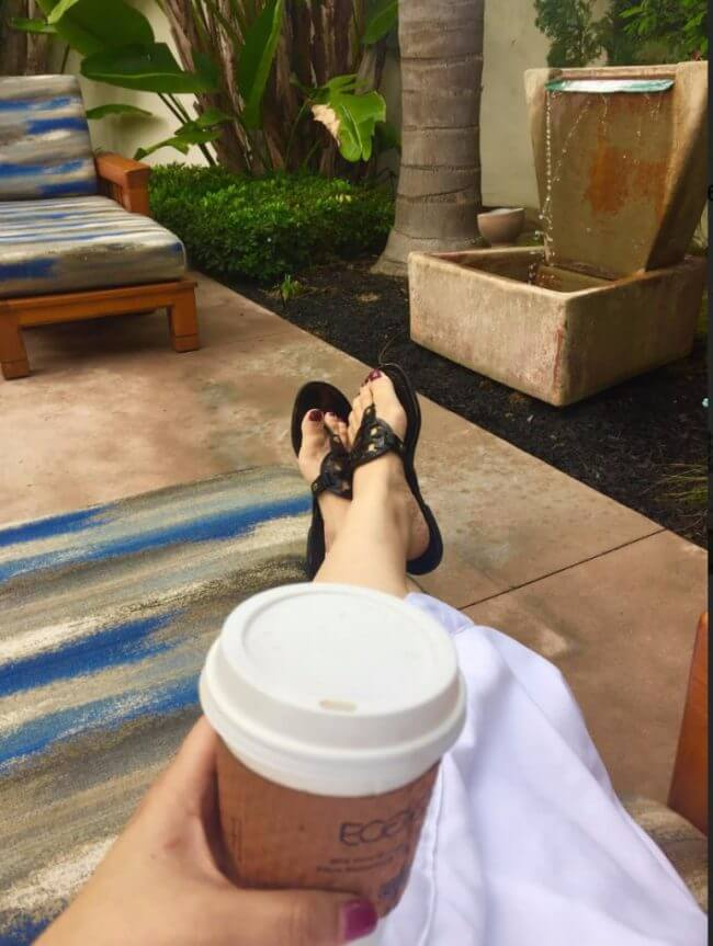 Pacific Waters Spa Patio