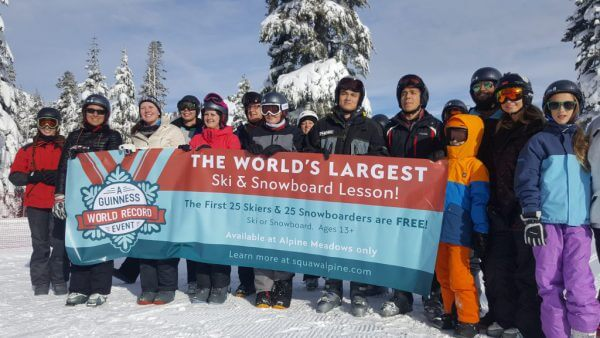 Setting a record with Ski California