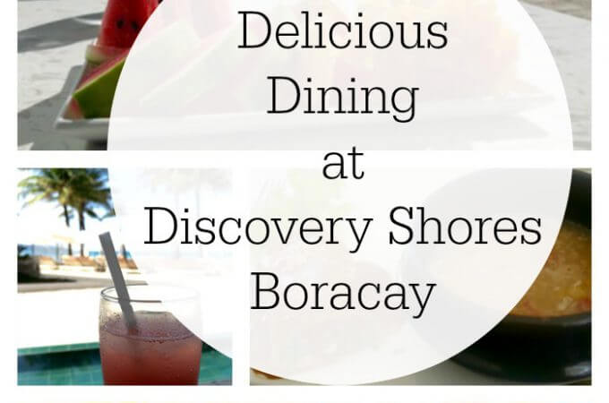 Family Dining and a Boodle Fight at Discovery Shores Boracay