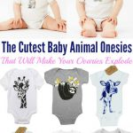 The Cutest Baby Animal Onesies That Will Make Your Ovaries Explode