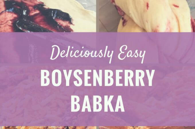 Take your challah to HOLLA! when you make this easy boysenberry babka
